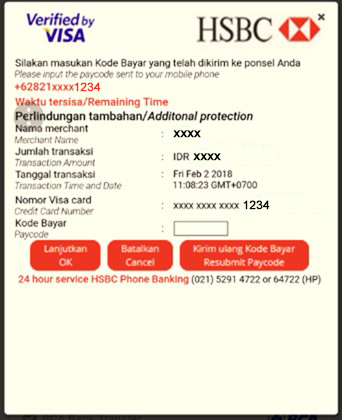 Secure Online Shopping | HSBC Indonesia