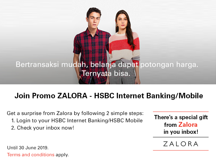 Zalora Hsbc Indonesia